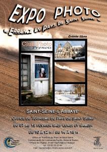 Affiche A4 pour expo St Seine